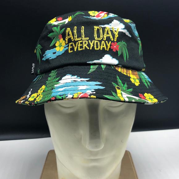40e910c7 dgk Accessories | Hawaiian Bucket Hat Tiki Maui Wowi Tropical | Poshmark